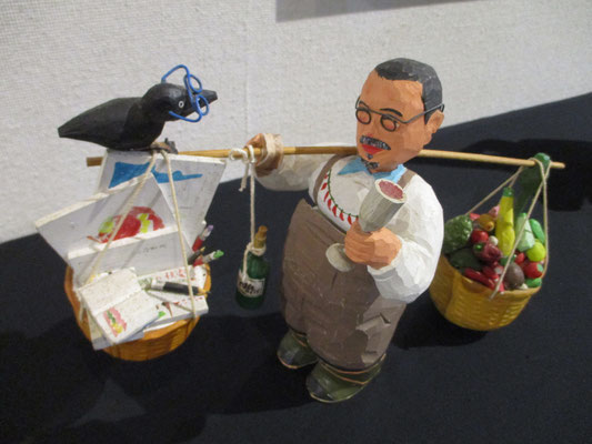 安達さんの人形 「Monsieur T」