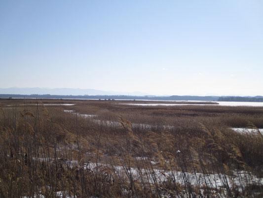 今は人も居ない静かな濤沸湖