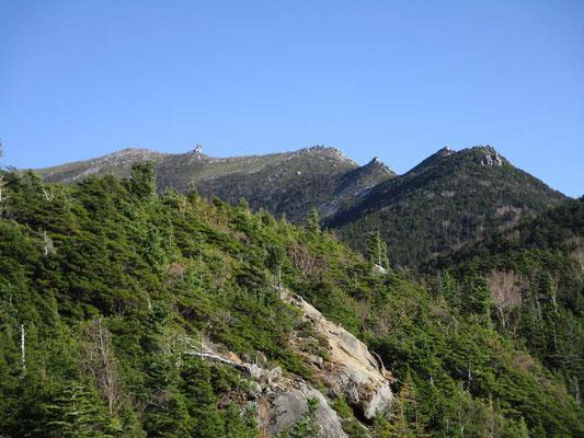 トッコ岩まで出ると初めて金峰山が見えます 五丈岩もしっかり見えます!