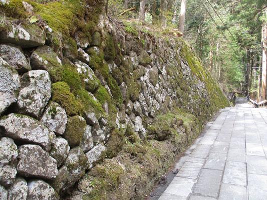 見事な石組み