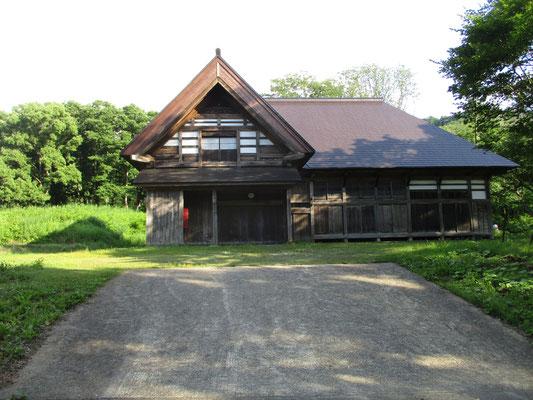 只見青少年旅行村・いこいの森に移設された古い民家 団体での宿泊利用に最適な施設