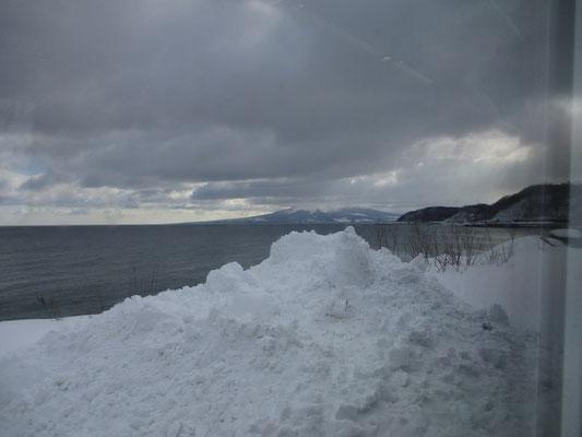 最後もやはり駒ケ岳は雲のなか・・・残念!