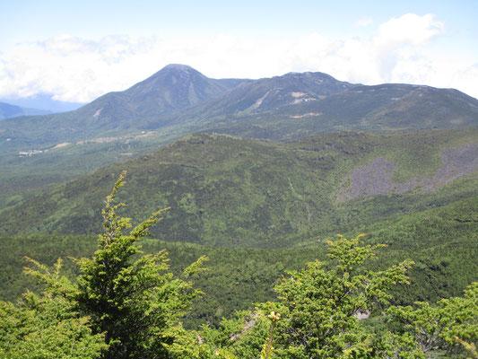 蓼科山もきれいに見えます
