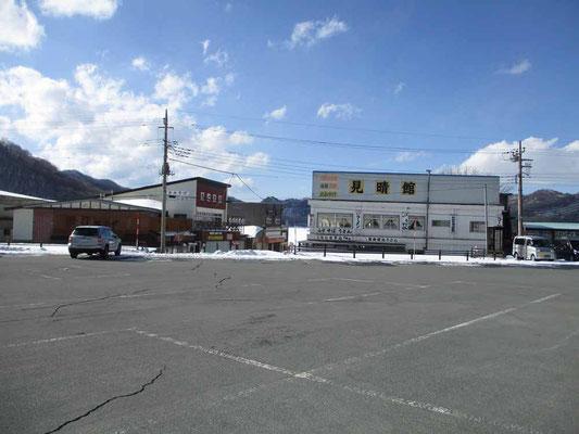 下山して戻った駐車場には雪がひとかけらもなく消えていました すごく暖かい日でした