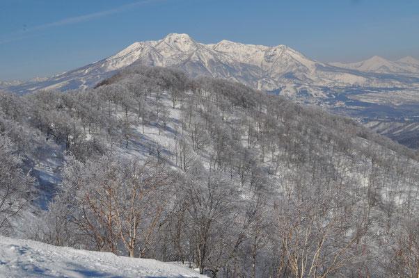 美しく妙高山が見える