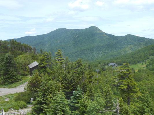 東館山から見る岩菅山