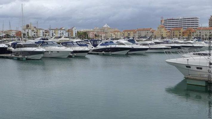 Vilamoura Hafen