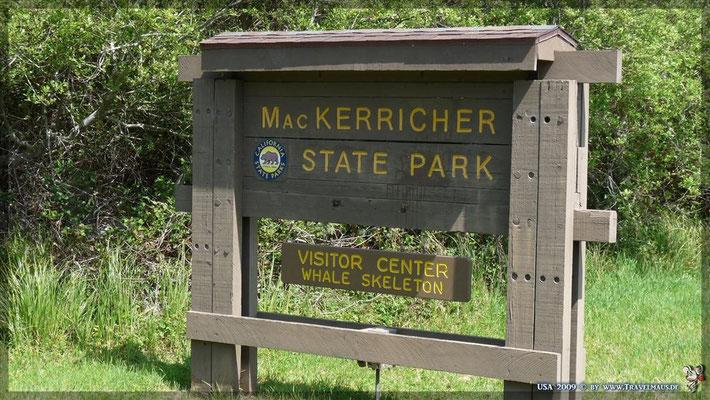 Mac Kerricher State Park (kostenlos) N 39° 29´ 216´´ W 123° 47´ 22.3´´