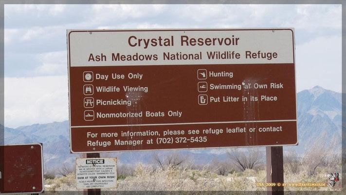 Crystal Reservoir N36° 24´41.3´´ W 116° 19´35.3´´
