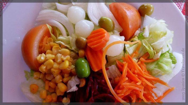 1. Vorspeise Salat/Brot