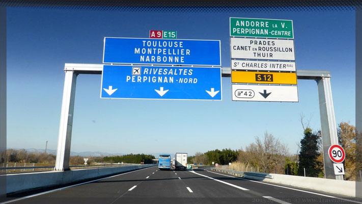 ...wollen in Narbonne übernachten