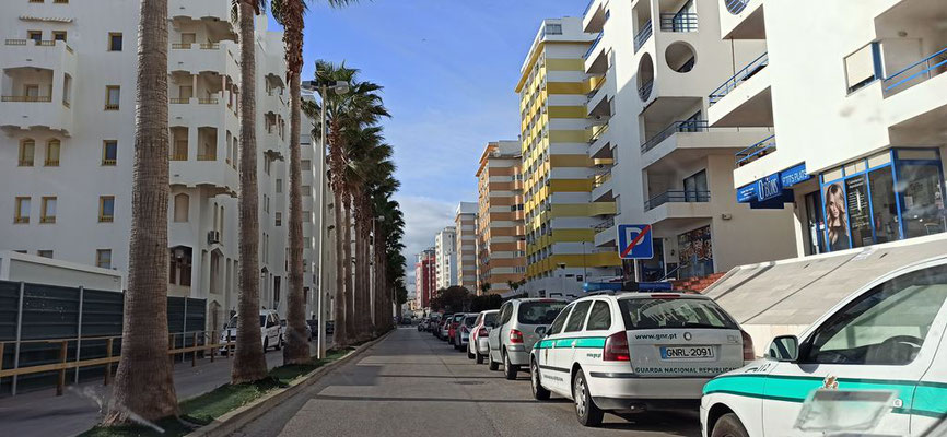 Paralellstraße zur Strandpromenade