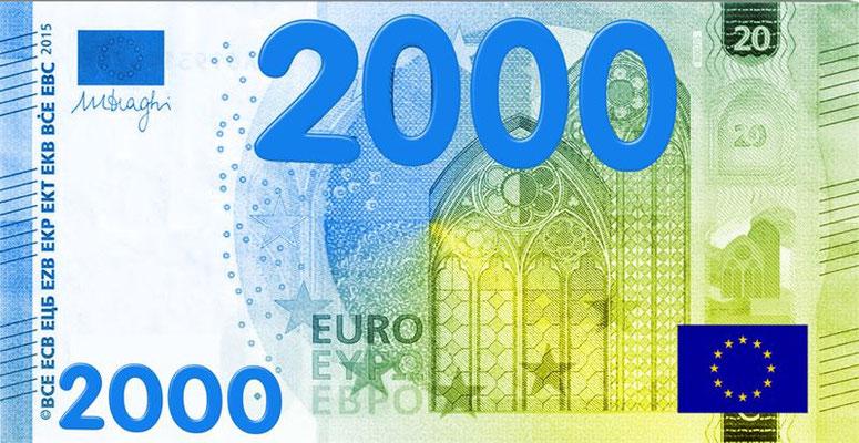 Ausdrucken schein zum 50 euro