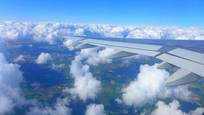 .1,5 Strunden über den Wolken
