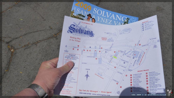 Solvang (dänisch-orientierte Stadt)  N 34° 35´39.9´´ W 120° 08´19.2´´