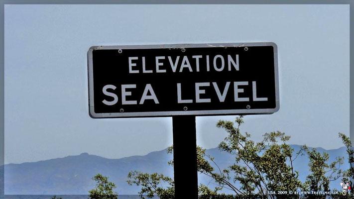 0 m NN / Sealevel/Death Valley
