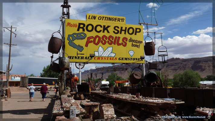 Rock Shop in Moab