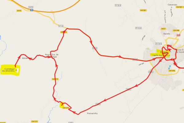 Cromlech von Almendres - nahe bei Evora