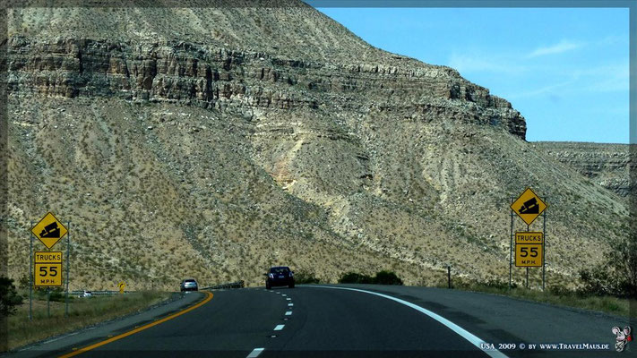 Virgin River Gorge (I-15) - durch Arizona