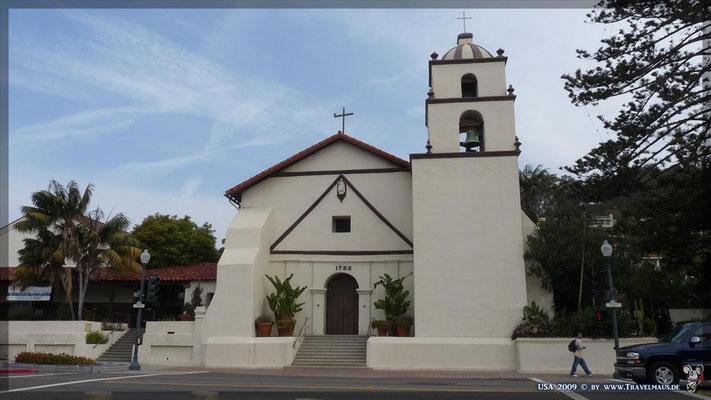 Mission San Buenaventura N 34° 16´51.3´´ W 119° 17´51.4´´