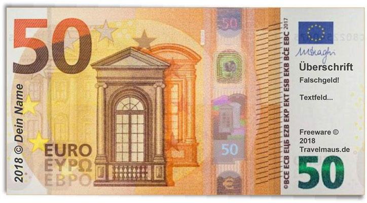 PDF Euroscheine am PC ausfüllen und ausdrucken   Reisetagebuch der