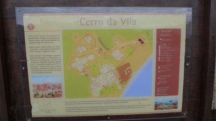 Cerro da Vila, archäologische Stätte