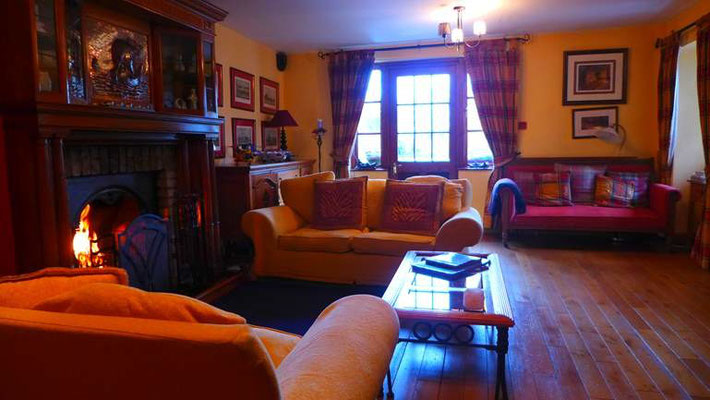 Lounge  in unserem B&B, Rathdrum