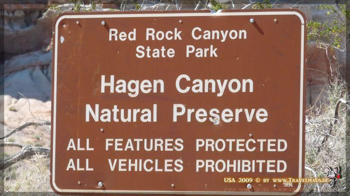 Red Rock Canyon -State Park-' N 35° 22´23.8´´ W 117° 59´25.4´´