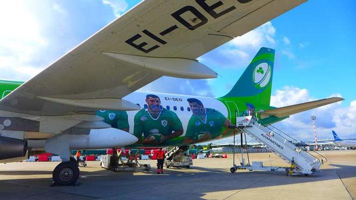 Abflug Düsseldorf mit Air Lingus