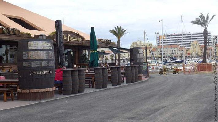 Irische Kneipe im Hafen