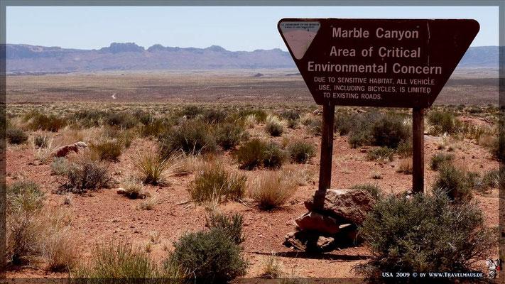 Marble Canyon (Hwy 89A)  ca. N 36°41´54.6´´ W 111°48´07.0´´