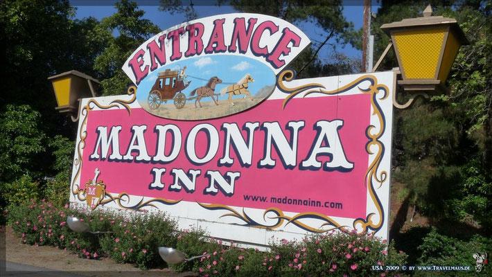Madonna Inn in San Luis Obispo N 35°16´01.3´´ W 120°40´29.0´´