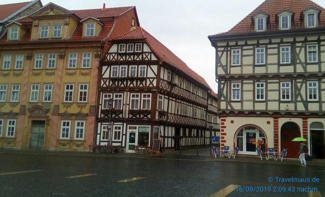 Fachwerkhäuser in Mühlhausen