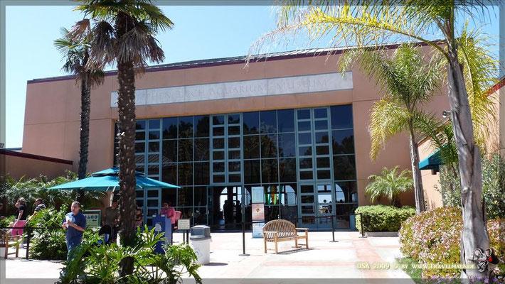 Birch Aquarium in La Jolla N 32° 51´57.9´´ W 117° 1´00.8´´