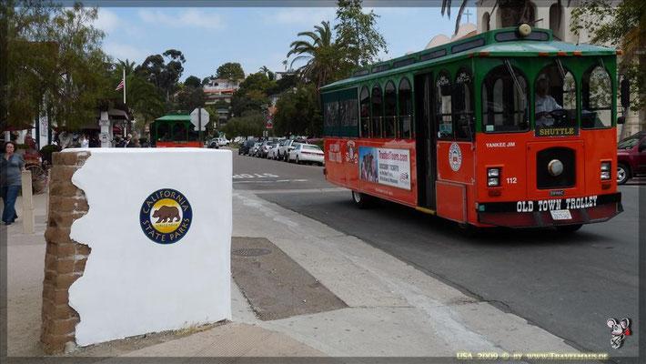 Trolley (Parkplatz) N 32° 45´10.3´´ W 115° 11´ 47.2´´