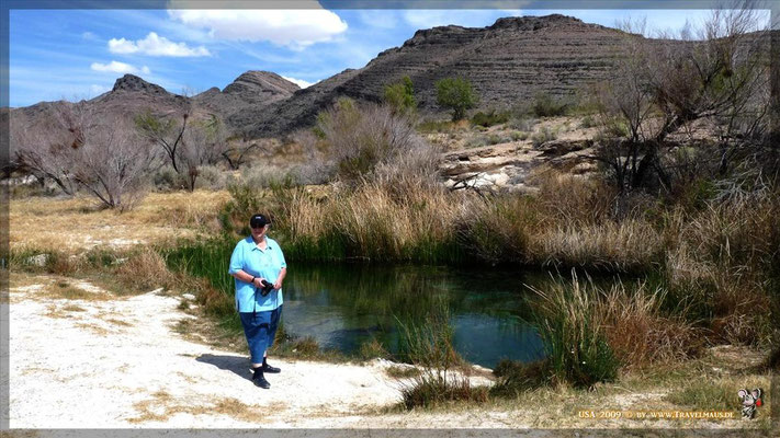 Rock Springs N 36° 24´05.5´´ W 116° 16´33.4´´