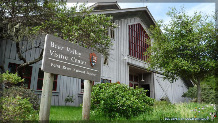 Point Reyes Visitor Center N 38° 02´29.2´´ W 122° 47´59.2´´