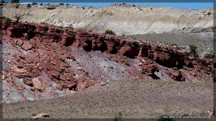 Fahrt durch den Eagle Canyon