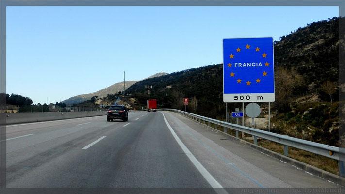 Frankreich erreicht.