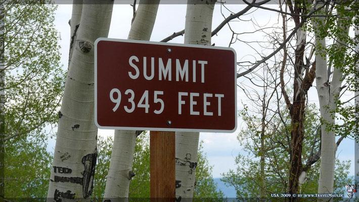 N 39°50´47.3´´ W111°42´47.6´´ Mt. Nebo Hwy (2850m)