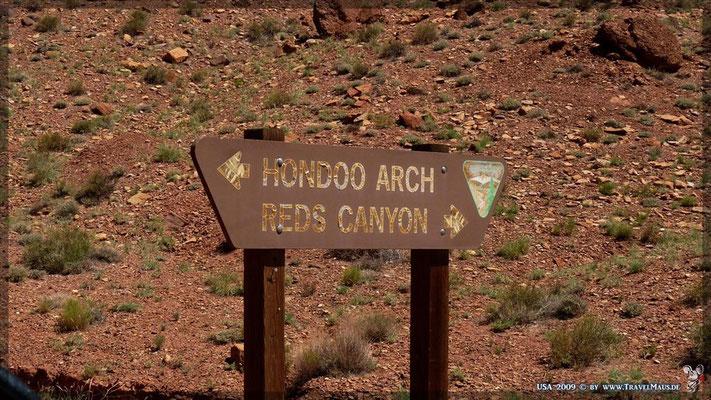 Hondoo Arch und Reds Canyon (im Loop)