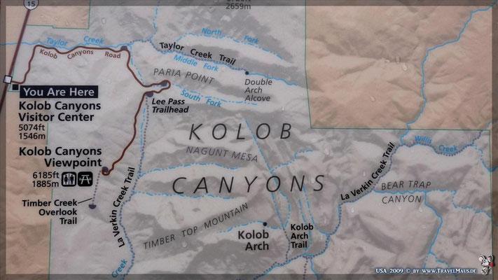 Kolob Canyons (Teil des Zion NP)