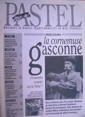 Pastel, Articles dans n°25 (1995), n°50 (2003, n°57 (2006) et n°60 (2007), COMDT (Conservatoire Occitan) Toulouse.