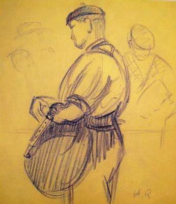 BOHA! 12 (Jacques Baudoin) : Crayon signé Henry Royer (1930)