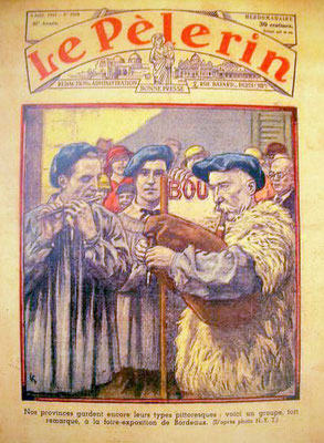 "BOHA! 11 (Bernard Desblancs) : Couverture du ""Pélerin"" Jeanty Benquet (1934)"