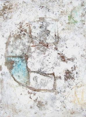 o. T., 2007, Acryl auf Leinwand, 15 x 20 cm