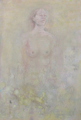 Zyklus Merry Maiden, Jennyfer, 2001, Acryl auf Holz, 110 x 160 cm
