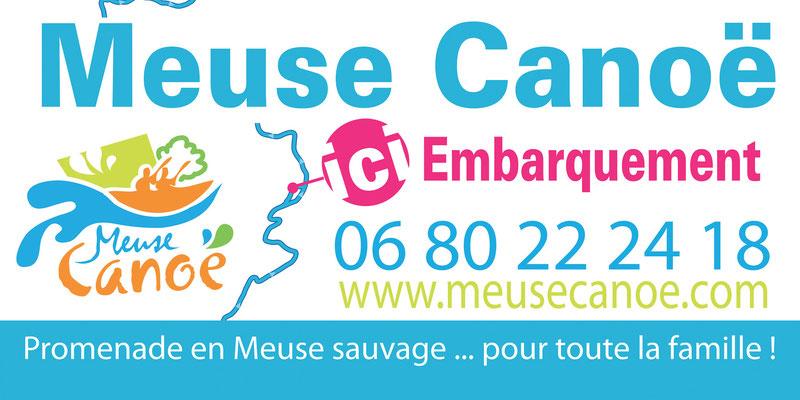 Panneau Meuse Canoé - 3m x 1,50 m