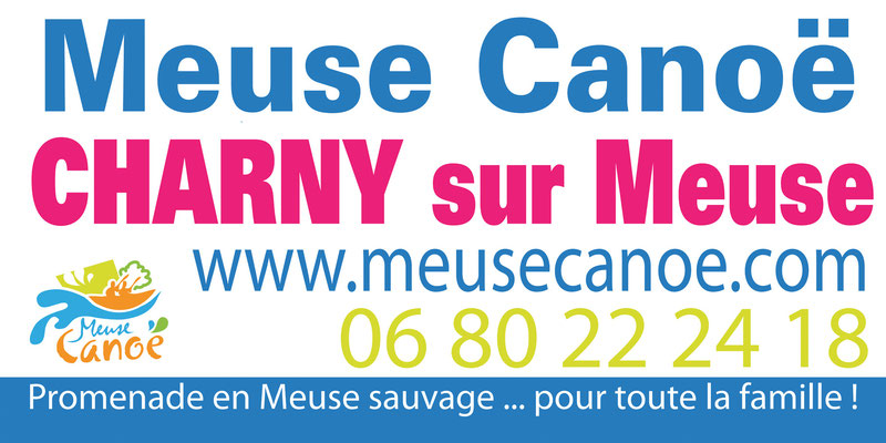 Panneau Meuse Canoé - m x 1 m