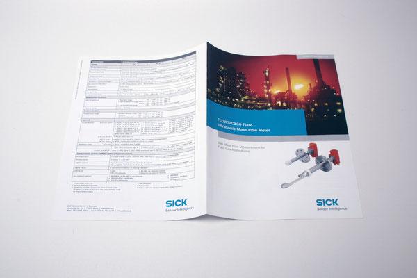 Digitaldruck Produktflyer